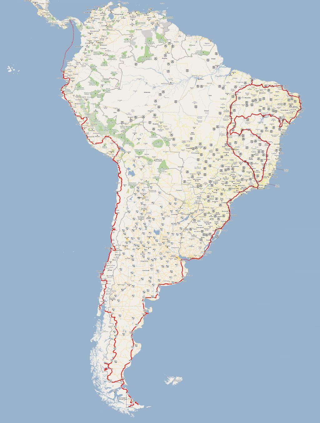 Map 3 - South America