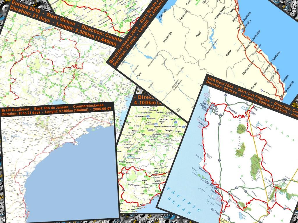 Varios mapas