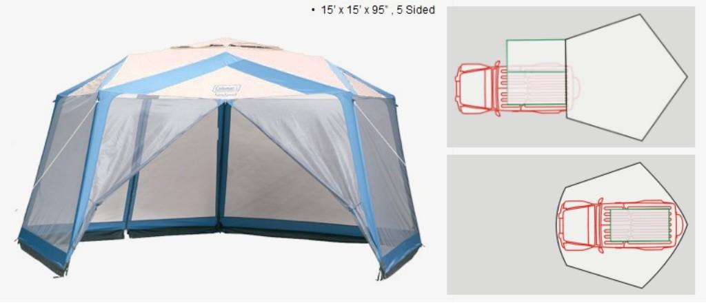 Extra tent